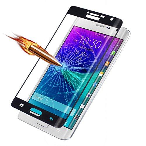 Samsung Galaxy Note Edge Coque, Malloom Une Couverture Complète En Verre Trempé Le Film Protecteur