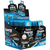 Energy Up Gel Cafeína Sabor Tropical, con cafeína. Con plus de sodio. Energía inmediata