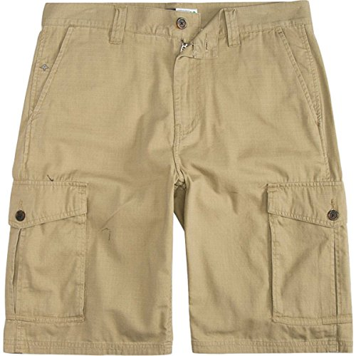 LRG Herren Hosen / Shorts Collection Ripstop khaki W 34 (Lrg Khaki)