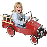 Goki 14069 - Coche de bomberos a pedales [importado de Alemania]