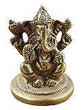 Best Devotionals For Men - SKAVIJ™ Brass God Ganesha Idol for Car Dashboard Review
