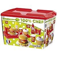 Ecoiffier 2623 - Jeu D'Imitation - Cuisine - Set Hamburger