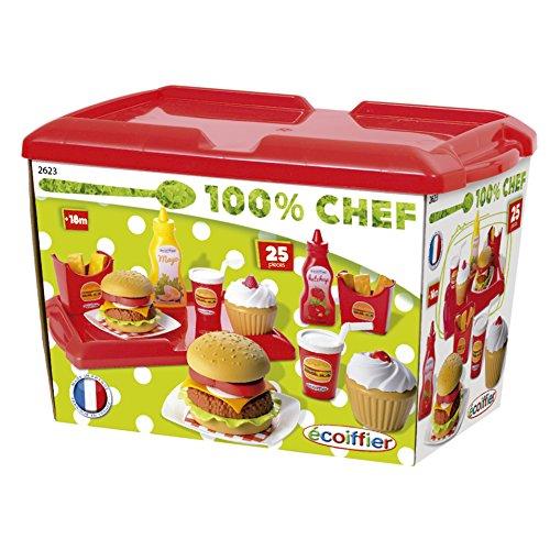 100% Chef - Set hamburguesería (Smoby 2623)