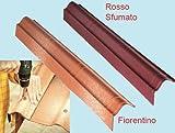 Scossalina laterale copertura impermeabile tetti tegole gazebo fiorentino 524128