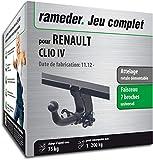Rameder Attelage rotule démontable pour Renault Clio IV + Faisceau 7 Broches...