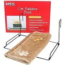 SODIAL Cama del radiador de los gatos y de los perros cuna de colchon de felpa