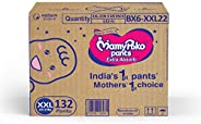 Mamypoko Jumbo Pack, Diaper Pants Extra Absorb, Size XXL, 15-25 Kg (132 Counts)