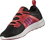 adidas Durama K, Zapatillas de Running para Niños, Negro (Negbas/Pursho / Rojray), 40 EU