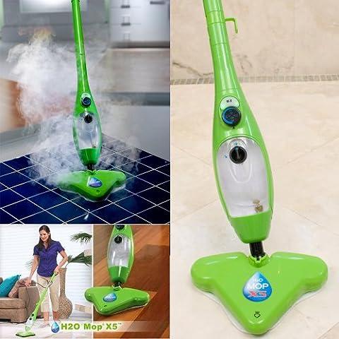 TrendTeleShop H2O Mop X5 - Mopa con vapor