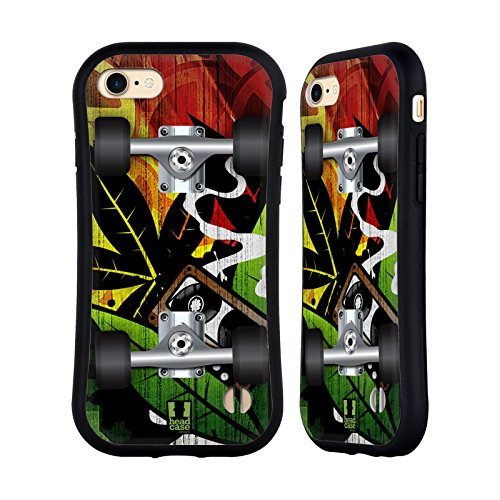 Head Case Designs Raggae Skateboards Hybrid Hülle für Apple iPhone 6 / 6s Raggae