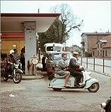 Posterlounge Holzbild 70 x 70 cm: DDR - Tankdienst Rügen 1966 von ddrbildarchiv.de
