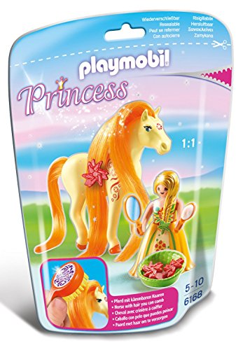 Playmobil - Princesa Sol con Caballo 61680