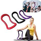 Yoga Ring Pilates, mamum Sport Yoga Ring Pilates Fitness Circle Training Widerstand Unterstützung Werkzeug Einheitsgröße rot
