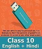 Dronstudy Class 10 CBSE English and Hindi