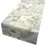 Schöner Leben Tischläufer Patchwork Pastell flieder 40x160cm
