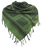 MiaoMa Plus épais Outdoors100% coton militaire Keffieh tactique Desert Keffieh Foulard