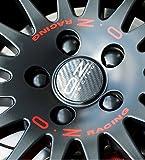 OZ Racing Aufkleber Sticker Felgenaufkleber Set Rot granturismo superturismo GT (19