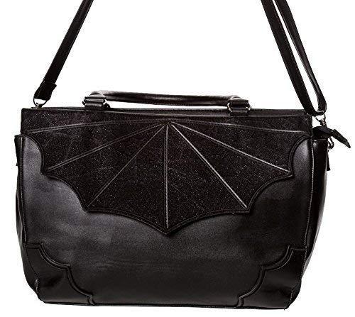 Banned Apparel noir VEUVE gothique vampire Spider Cobweb Chauve-Souris Sac à main