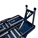 Portable Folding Picnic Table Set 4 Chairs ABS Plastic Outdoor Camping