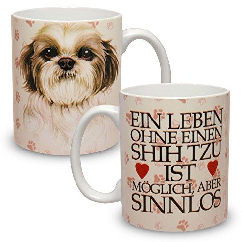 Kaffeebecher mit Motiv Hund Große XXL Tasse Shih Tzu