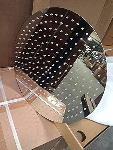 RIESEN DUSCHKOPF 30CM RUND MIT 156 DÜSEN Edelstahl Finish-poliert Regendusche Regenbrause Brausekopf Duschkopf Ultra (Riesen Licht-sets)