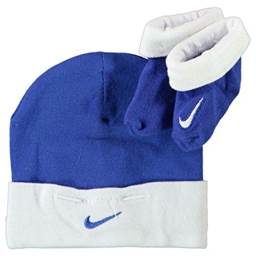 Nike Baby Bootie und Mütze Hut Set Schuhe für Neugeborene 0-6 Monate (Baby-mädchen Neugeborenen-nike Schuhe)