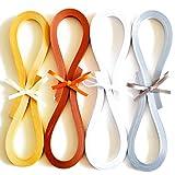Juya Metallic-Papier Quilling Set 160 Streifen 4 Farben 355mm Länge