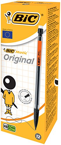 Bic 820959 – Portaminas, caja de 12 unidades
