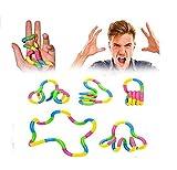 MIMOO Diseño Divertido Aliviar el estrés Autismo Anti-estrés TDAH sensorial Dedo Guantes Juguete Mano descompresión sensorial Juguete