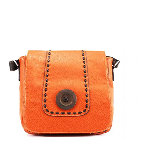 Craze London, Borsa a tracolla donna Orange