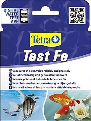 Tetra Test Fe (Eisen) (Wassertest für Süßwasseraquarien, misst zuverlässig und genau den Eisenwert)