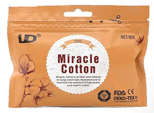 UD Miracle Cotton unbehandelte Baumwolle für Selbstwickler 1 Packung