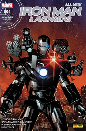 All-new iron man & avengers nº 4 (couverture 2/2)