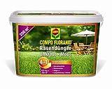 COMPO FLORANID® Rasendünger gegen Unkraut+Moos 4in1, perfekt Absgestimmte Rasenpflege mit zuverlässiger Unkraut- und Moosvernichtung, 6 kg für 200 m²