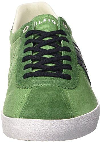 Tommy Hilfiger P2285LAYOFF 1C_1, Chaussons homme Vert - Verde (Juniper 505)