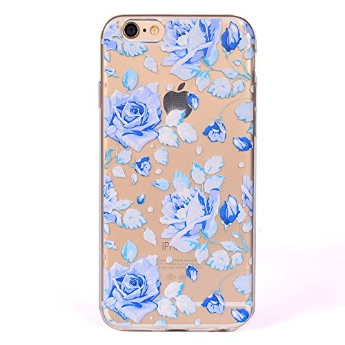 Pour Apple iPhone 5 5S 5SE Case Cover, Ecoway TPU Clear Soft Silicone Back Dream Rose Housse en silicone Housse de protection Housse pour téléphone portable pour Apple iPhone 5 5S 5SE - Dream Rose Dream Rose