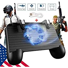 SVZIOOG Mobile Game Controller Trigger Gaming Grip and Joysticks for PUBG/Fortnite/Rules of Survival for 4.5-6.5-inch Android and iOS Phone