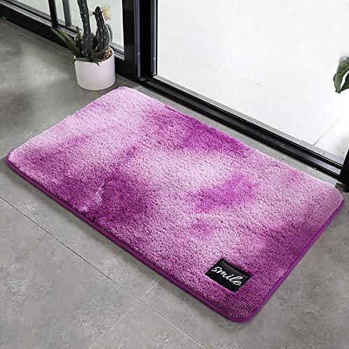 DKMMDWSSDMD Badteppiche, Schmutzmatten, Fußmatten, saugfähige Fußmatten, Badteppiche, A6