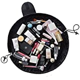 Lazy Cosmetic Bag, NTMY Makeup Körperpflege Schmuck Organizer mit Reißverschluss und Tunnelzug