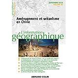 L'information géographique (3/2016) Aménagement et urbanisme en Chine