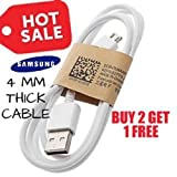 #4: Aspa Samsung Galaxy J7 Prime Compatible Micro-USB Charging Data Cable - White