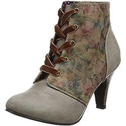 Joe BrownsVery Vintage Shoe Boots - Botas Mujer, Color Marrón, Talla 42