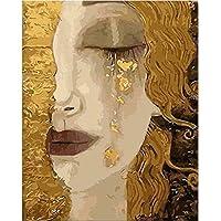 Artshdow Golden Tears By Gustav Klimt Paint By Numbers Kit