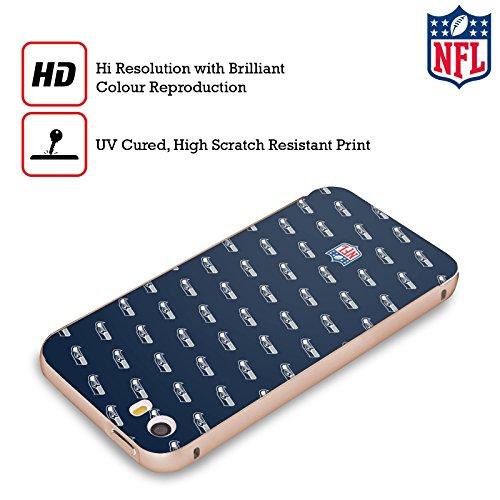 Ufficiale NFL Marmo 2017/18 Seattle Seahawks Oro Cover Contorno con Bumper in Alluminio per Apple iPhone 5 / 5s / SE Pattern