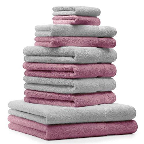 BETZ Lot de 10 serviettes set de...