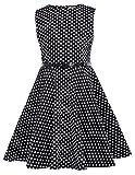 Maedchen Swing A-Linie Ball Sommer Kleid mit Guertel 10 Jahre KK250-19 - Best Reviews Guide