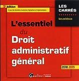 Lire le livre L'essentiel droit administratif général gratuit