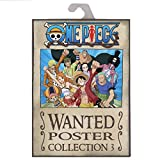 AbyStyle Abysse Corp _ abydco426One Piece–Portfolio 9Poster Wanted Luffy 's Crew (21x 29, 7) X5, Mehrfarbig