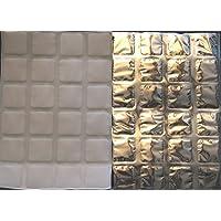 ThermaFreeze XL SuperChilled Silver Ice Eispackungen, 5extragroße Bogen, 25,4x 38cm, 24 4x 6cm große Zellen... preisvergleich bei billige-tabletten.eu