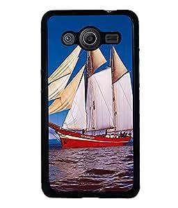 printtech Ship Water ocean Back Case Cover for Samsung Galaxy Core Prime G360